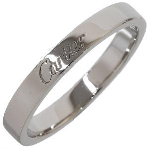 (カルティエ)Cartier エングレーブド リング 16号(58) pt950|neonet05