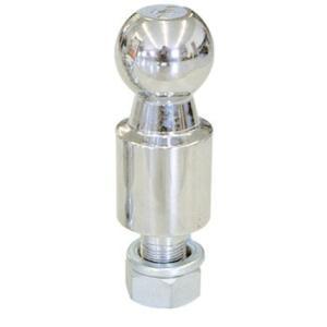 2インチロングヒッチボール 首下50mm スチール シャフト径19mm|neonet