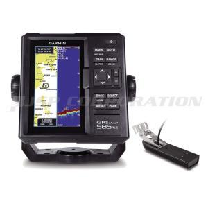 ガーミン 魚探 GPSMAP 585 Plus GPS連動 GT21-TM振動子セット|neonet