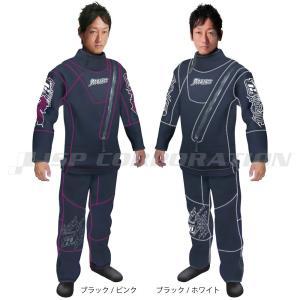 ドライスーツ メンズ/ウィメンズ ウェットドライスーツ ソックスシールタイプ J-FISH / ジェ...