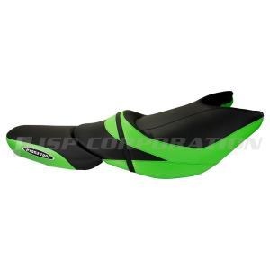 シートカバー ULTRA 310R(14-17)/310X SE(14-17) Black/Lime Green|neonet