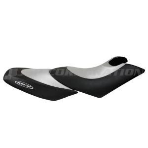 シートカバー GTX(03-06)4TEC(02)/DI(02)/WAKE215(06-08) /RXT(-07)/RXT-X255(-09)/WAKE PRO215(09) Black Vinyl/Silver Carbon|neonet