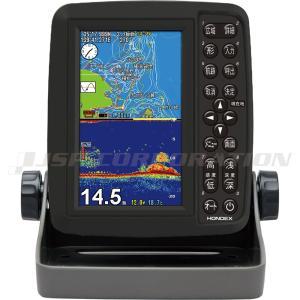 5型ワイドカラー液晶 GPSプロッター魚探 PS-611CN GPSアンテナ内蔵 neonet