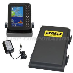 5型ワイドカラー液晶 GPS魚探 PS-611CN リチウムイオンバッテリーパックセット|neonet