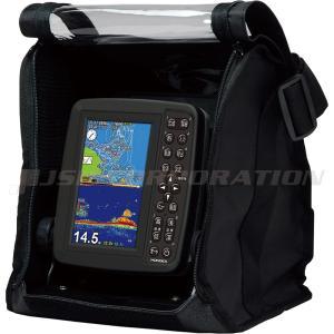5型ワイドカラー液晶 GPSプロッター魚探 PS-611CN バリューセット GPSアンテナ内蔵 neonet