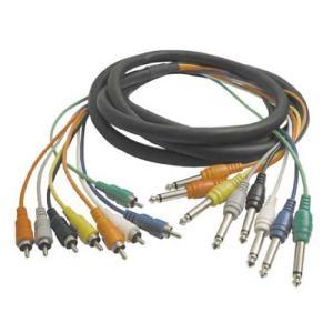 Hosa CPR-802 2m モノラルフォンプラグ-RCA スネークケーブル|neosheep