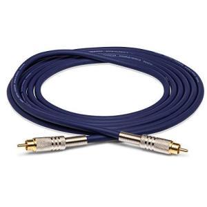 Hosa DRA-501 1m 両側RCA S/PDIF コアキシャルケーブル ブルー|neosheep