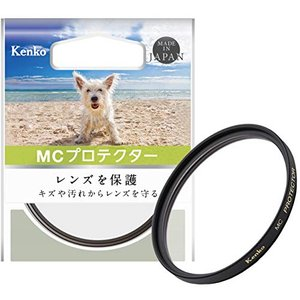 Kenko レンズフィルター MC プロテクター 58mm レンズ保護用 158210|neosheep