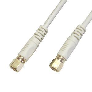 フジパーツ 地上波デジタル対応アンテナケーブル接栓⇔接栓 2m FBT-320|neosheep
