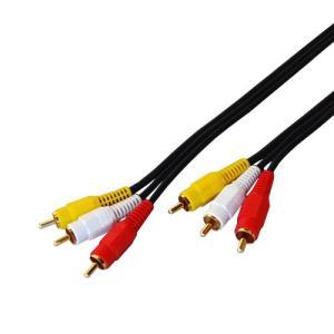 フジパーツ AVケーブル 3ピン-3ピン 20m FVC-123I|neosheep