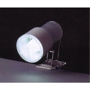 クリップライト(電球型蛍光ランプ付)MCL-27KW|neosheep