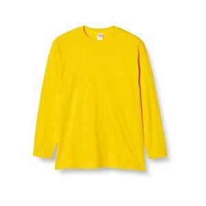 [プリントスター] 長袖 5.6オンス ロングスリーブ Tシャツ(リブ無) 00101-LVC メンズ デイジー L (日本サイズL相当)|neosheep