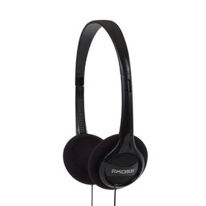 Koss KPH7 軽量ポータブルヘッドフォン ブラック 並行輸入品|neosheep