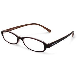 エッシェンバッハ 老眼鏡 +1.5 度数 リーディングMEGANE 弾性フレーム 日本製 ブラウン 2994-3415|neosheep