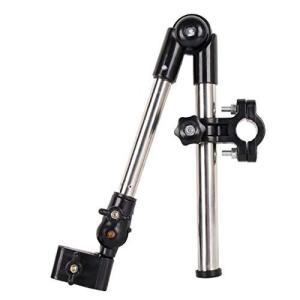 Vktech 自転車 電動自転車 車椅子 ベビーカー用 傘スタンド 任意の角度調節 neosheep