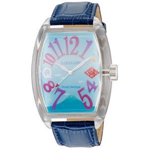 [フランクミウラ] 腕時計 ご当地三浦 山梨県 「風林火山の如きモデル」 FM04NK-YMGBL ブルー neosheep