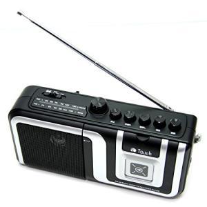 【st-056】 Touch AM/FMラジオ カセットレコーダー プレーヤー (ブラック)|neosheep