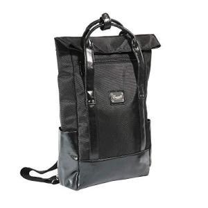 [ウィークエンド] WEEKEND リュック メンズ ナイロン ビジネスシーンでも使える 2way 縦型 トートバッグ 【No.2529】 (ブラック|neosheep