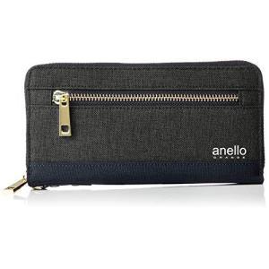 [アネロ グランデ] 財布 GJ-A0943 CC クラシック杢ポリ 長財布 ブラック|neosheep