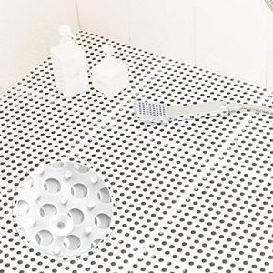 QD-SGMP お風呂マット 滑り止めマット 吸盤つき 浴槽マット すのこ 洗い場マット 浴室用床シート 防カビ 介護用 赤ちゃん お年寄り 転倒防止|neosheep