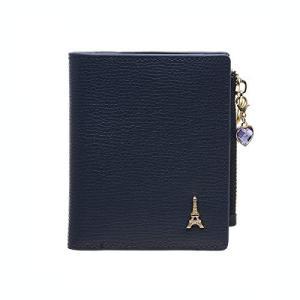 【セット品】FROMb フロムビー 二つ折り財布 薄型 シンプル おしゃれ Half wallet サイフ レディース 折財布 2つ折り コインケース|neosheep