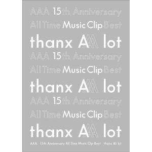 【送料無料選択可】[Blu-ray]/AAA/AAA 15th Anniversary All Time Music Clip Best -thanx neowing