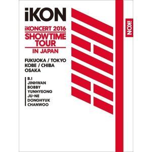 【送料無料選択可】iKON/iKONCERT 2016 SHOWTIME TOUR IN JAPAN [2Blu-ray+2CD] [初回生産限定][