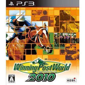 [PS3]/【送料無料】ゲーム/Winning Post World 2010 [PS3] neowing