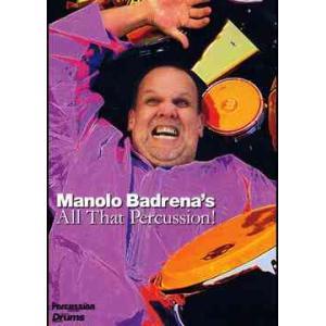 【送料無料選択可】マノロ・バドレーナ/Manolo Badrena's All That Percussions!