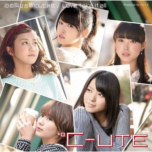 ℃-ute/心の叫びを歌にしてみた / Love take it all [DVD付初回限定盤 A]