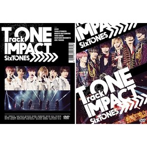 [DVD]/SixTONES/TrackONE -IMPACT- [DVD 初回版+通常版] [2タイプ一括購入セット]|neowing