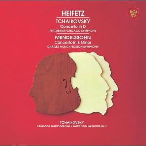[CDA]/ヤッシャ・ハイフェッツ (vn)/メンデルスゾーン&チャイコフスキー: ヴァイオリン協奏曲 [Blu-spec CD2] neowing