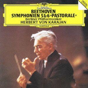 【送料無料選択可】ヘルベルト・フォン・カラヤン (指揮)/ベートーヴェン: 交響曲第5番「運命」&第6番「田園」 [SHM-CD]