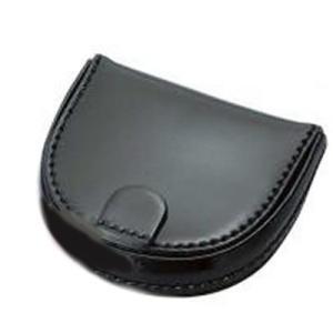 コードバン 馬革 馬蹄形 コインケース ブラック nep
