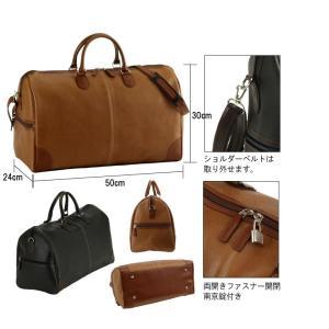 日本製 豊岡製鞄 ダレスバッグ 合皮レザー ボストンバッグ ボストンバックメンズ ビジネスバッグ 50cm クロ黒|nep|03