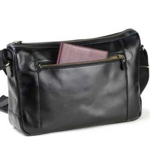 日本製 豊岡製ショルダーバック メンズ バッグ斜めがけ 牛革レザー 本革 革B5 サイズ 横型33cm (横幅)クロ(黒)|nep