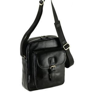 日本製 豊岡製鞄 ショルダーバッグ メンズ ショルダーバック  斜めがけ レザー 軽量 本革 牛革 革 縦型 男性用 紳士用 鞄 B5 21cm 黒|nep