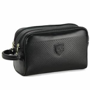 日本製 豊岡製鞄 セカンドバック 黒 セカンドポーチ クラッチバッグ 二室・2室ダブルルーム メンズ 合皮レザー|nep