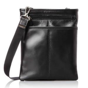 日本製 豊岡製 ショルダーバッグ 薄マチ 薄型 スリム 縦型 メンズ ウエストバッグ 斜めがけ 本革・牛革 レザー