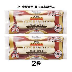 【送料込み】高級ガム2袋 小・中型犬用トラッドホワイト ビッグロール棒型 ペッツルート メール便 nepet-shop