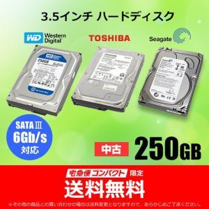 各社 3.5インチハードディスク 250GB  (SATAIII 6Gb/s伝送対応)|nepia