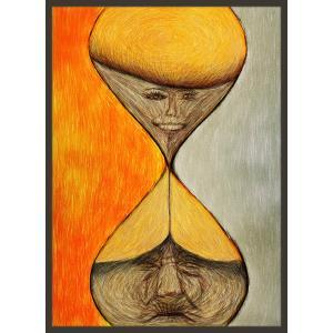 絵画「タイムカプセル」 ジクレー版画 ヨーロッパで大人気 ネルバ作 111-202|nerva