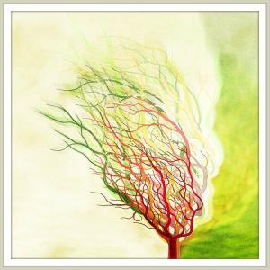 絵画「木は生きている」 ジクレー版画 ヨーロッパで大人気 ネルバ作 112-209 nerva