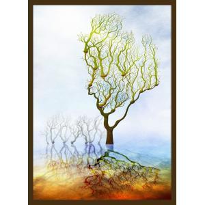 絵画「つぼみ」 ジクレー版画 ヨーロッパで大人気 ネルバ作 112-213 nerva