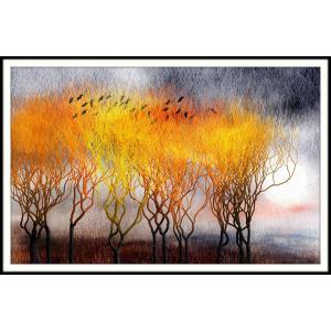 絵画「今年の冬は厳しくなるかねぇ」 ジクレー版画 ヨーロッパで大人気 ネルバ作 113-216 nerva