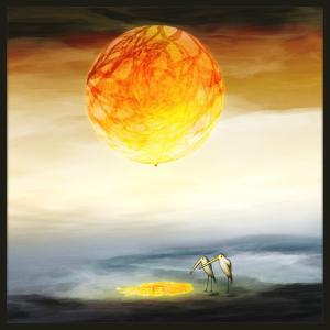 絵画「太陽がこぼれてるよ!」 ジクレー版画 ヨーロッパで大人気 ネルバ作 113-226 nerva