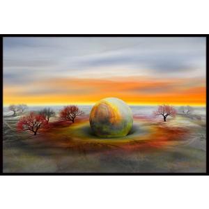 絵画「無事、着陸」 ジクレー版画 ヨーロッパで大人気 ネルバ作 114-234|nerva
