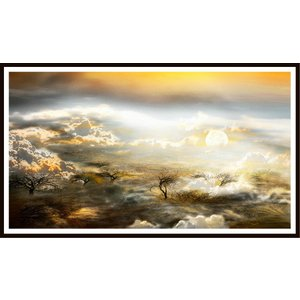 絵画 ネルバ作「月、雲海より打ち上げ準備よし」116-293 ジクレー版画 2016年製作 限定18枚|nerva