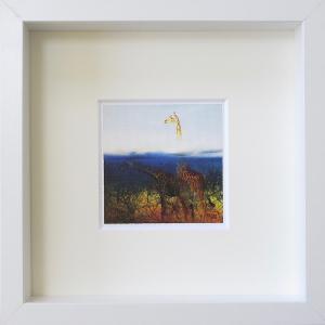 絵画 ネルバ作「あれ?あの娘どこにいっちゃった?」額付き 2015年製作 限定100枚 ジクレー版画 ヨーロッパで大人気 215-251|nerva