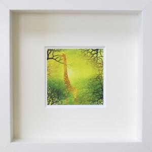 絵画 ネルバ作「春の味がするね!」額付き 2015年製作 限定100枚  ジクレー版画 ヨーロッパで大人気 215-254|nerva